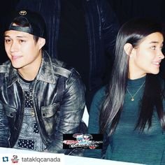 """#Repost @tataklqcanada with @repostapp. Liza and Quen during the Kapamilya Bida Boys Meet and Greet in Toronto..Break a leg sa show Lizquen! We'll…"""