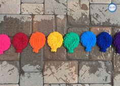 Today I'm bringing back and oldie but a goodie! My free Crochet Water Balloon pattern was just madefor the new Bernat Blanket Stripes yarn :) And now I have included a video tutorial as well.Make a set of these reusable water balloons in a day for a summer full of fun!