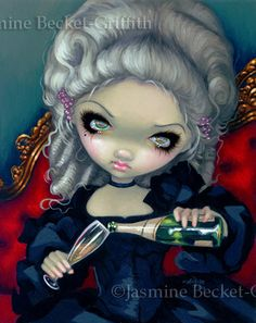 """""""Have Some Champagne"""" by Jasmine Becket-Griffith."""