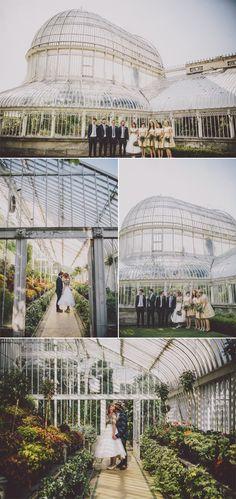 Dreamy wedding venue at the Botanical Gardens | Ten21 Photography