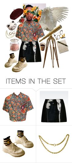 """""""Tell Me, What Do You See?"""" by softgore ❤ liked on Polyvore featuring art and vintage"""