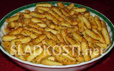 Slané tyčinky s kmínem Apple Pie, Pasta Salad, Ethnic Recipes, Desserts, Crab Pasta Salad, Tailgate Desserts, Apple Cobbler, Deserts, Postres