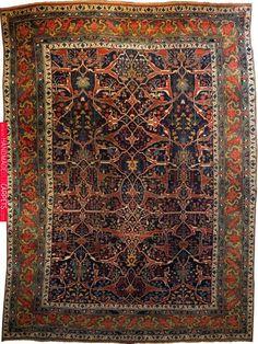 Iran Bijar Size: 14 9 x 19 8 I Oscar Isberian Rugs Chicago Persian Carpet, Persian Rug, Iranian Rugs, Iranian Art, Rustic Rugs, Tribal Rug, Modern Rugs, Rugs On Carpet, Antiques