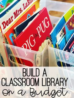 elementary classroom decor So youre needing to build a classroom library, but you are on a tight budget? Yep, that teacher salary isnt enough to splurge on Scholastic Book Fa