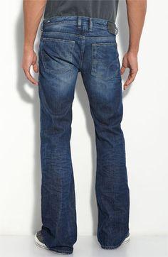 DIESEL® 'Zathan' Bootcut Jeans (8M2 Wash) Uh-Huh
