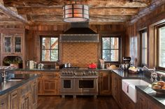 Don't Avoid Rustic Kitchen Decorations14