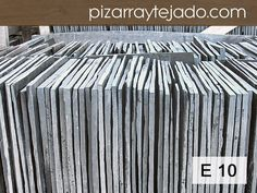 E10 Pizarra Natural directa de cantera en León. Varios formatos. #pizarra #pizarranatural #naturalslate #pizarra #ardoise