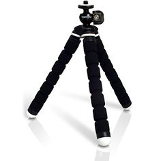 Introducing iGadgitz Lightweight Small Universal Flexible Foam Mini Tripod for Canon PowerShot SD1100 IS SD1200 IS SD1300 IS SD1400 IS SD3500 IS SD4000 IS SD4500 IS  Black. Great product and follow us for more updates!