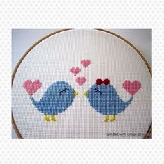 love birds for Valentine's day