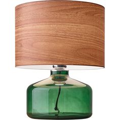Adesso Jade Table Lamp - Green (Lamp Only) Modern Decor, Modern Furniture, Furniture Ideas, Modern Design, Luminaria Diy, Green Lamp, Retro Room, Contemporary Table Lamps, Contemporary Style