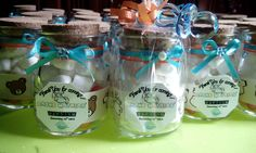 Giveaways for ninong and ninang baptism favors