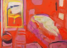 As wife of the brilliant but 'extremely demanding' artist Roger Hilton, she put his career first – and hers on hold. Now, at Rose Hilton is making up for lost time, writes Kate Salter. Stella Rose, Post Impressionism, Painting Gallery, Paintings I Love, Art Google, New Art, Painting & Drawing, Red Roses, Modern Art