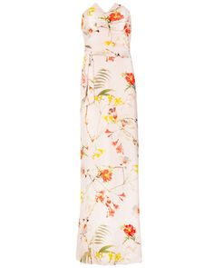 Botanical bloom print maxi dress - Pale Pink | Dresses | Ted Baker