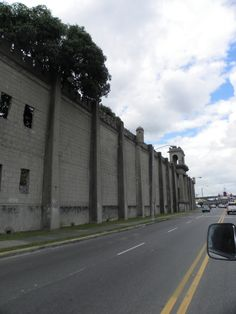 Santo Domingo, Dominican Republic~ This is the fortified wall that surrounds the old Colonial City. Intruders never surpassed the wall. However, Sir Francis Drake did overtake the city by his from the East by land.