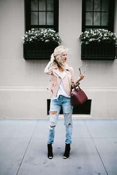 Blush Jacket + Distr