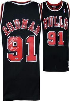 705575aaf Autographed Dennis Rodman Bulls Jersey Fanatics Authentic COA Item 8971684  Dennis Rodman Jersey