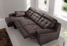 Si quieres un sofa para relajarte en casa. Sofa Sydon Ideal para desconectar con su sistema de relax, un sofa practico envolvente, con un bonito diseño de costuras con inspiración clásica y elegante. L284 P155 H100 1.695€ Una Cheise Longue con calidad y precio. FABRICACION ESPAÑOLA #JoseMobiliario #Mobiliario #Decoración #Interiorismo #Complementos #Hogar #Textil #Decoradores #Diseño #Muebles #Sofas