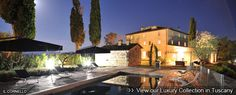Tuscany luxury villas To book this destination please contact me at jane@worldtravelspecialists.biz