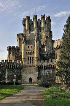 Castle Butròn, Basque, Spain