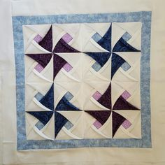 Pinwheel Surprise Quilt Block Pattern Stunning results - easy to follow pattern