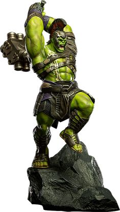 Hulk Statue Sideshow and Iron Studios are proud to present the Hulk Statue from the Thor: Ragnarok Art Scale 1:10 Battle Diorama Series.  Based on original 3D references from the hit film Thor: Ragnarok, the polystone statue is hand-painted and includes a diorama base.  click image for more details