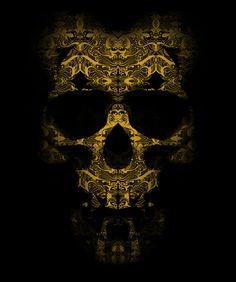 #Dark#skull#art