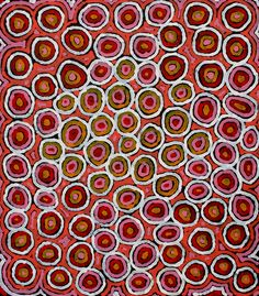 Aboriginal Artwork by Raelene Stevens. Sold through Coolabah Art on eBay. Cataogue ID 09017