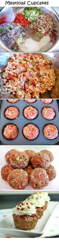 Meatloaf Cupcakes