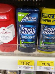 *HOT* Right Guard Deodorant $.97 at Walmart With New Coupon!