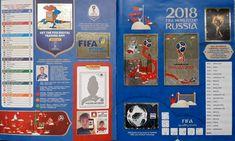 Album figurine mondiali World cup Russia 2018 - Panini FOTO Russia, Panini, Fifa World Cup, Album, App, Digital, Apps, Card Book