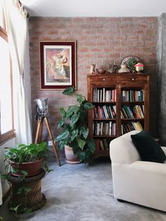 If you follow these five tips, your narrow room will shine bright no matter its actual square footage. Narrow Rooms, Narrow Living Room, Small Space Living, Small Spaces, Apartment Therapy, Apartment Living, Small Round Side Table, Small Scale Furniture, Minimalist Room
