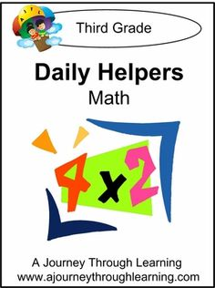 Daily Helper Lapbook- Grade 3 Math