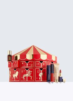 Holiday Countdown, 24 Beauty Surprises - Give yourself a surprise beauty treat to countdown the holiday season. Includes 24 deluxe travel sizes of skincare and makeup favourites.