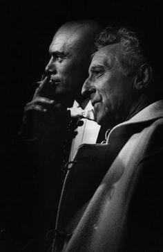 5f226adc9efc Yul Brynner and Jean Cocteau