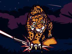 Jaguar life designed by Penpencils. Life Design, San Luis Obispo, Jaguar, Mystic, Marina Del Rey