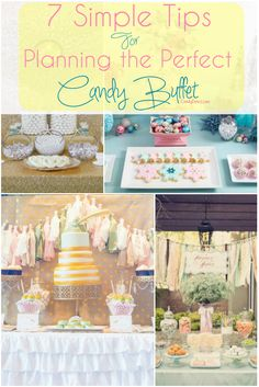 How To Stage a Candy Buffet