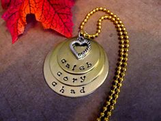 Personalized Jewelry Mommy Necklace Personalized by CharmAccents,