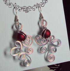 Double Loop DE Loop Dangle Earrings by melissawoods on Etsy, $18.00