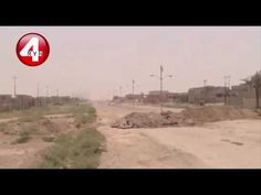 Tour of the liberated areas from ISIS in Fallujah