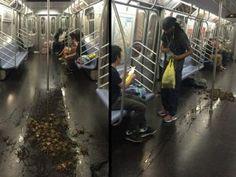 紐約地鐵一走蟹就大亂