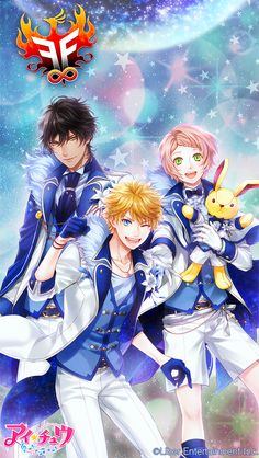 Akira, Seiya and Kanata