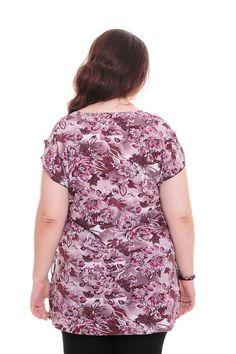 Блузка А5876 Размеры: 62-70 Цена: 345 руб.  http://optom24.ru/bluzka-a5876/  #одежда #женщинам #блузки #оптом24
