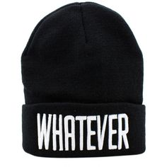 Whatever knit beanie hat ($33) ❤ liked on Polyvore featuring accessories, hats, print hats, beanie hat, knit beanie caps, knit hat and pattern hats