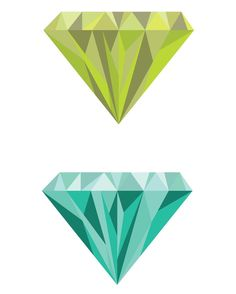 Working on a new little something  #gems #crystals #diamonds #graphicdesign #graphicdesigner #diamond #shiny #vector #vectorart #lime #blue #prettythings #sparkandmusedesign by sparkandmusedesign
