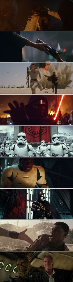 A closer look at the trailer for Star Wars: The Force Awakens