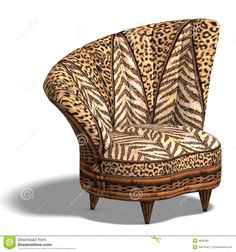 Absolutely that tapestry chair. I want it in my house! | For ... on