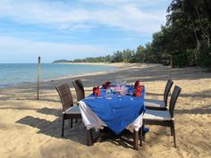 Tanjong Jara Resort, Dungun, Malaysia — by Jaana Nyström. Dinner under the stars in Malaysia In the Tanjong Jara Resort one can dine on the beach... Lovely place in Terengganu.