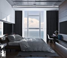 Your bedroom is a sanctuary. It& the last thing you see when you close your eyes at night. It can inspire sweet dreams or nightmares if you& not happy with t Bedroom Bed Design, Dream Bedroom, Master Bedroom, Bedroom Decor, Bedroom Ideas, Interior Architecture, Interior Design, Stylish Bedroom, Headboards For Beds