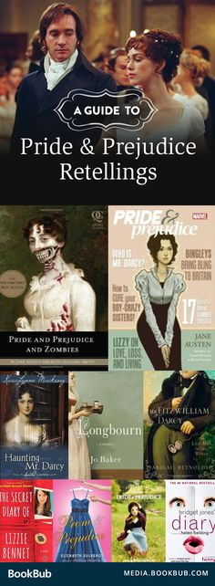 A wide variety of books to read if you love Pride and Prejudice by Jane Austen. Everything from zombies to prestigious boarding schools!