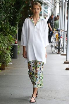 Yeohlee - New York Fashion Week : spring/summer 2015